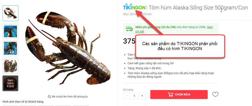 Cách nhận biết sản phẩm do TikiNGON phân phối?