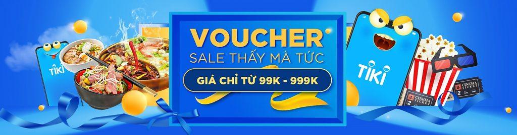 Cách đặt mua Voucher trên Tiki