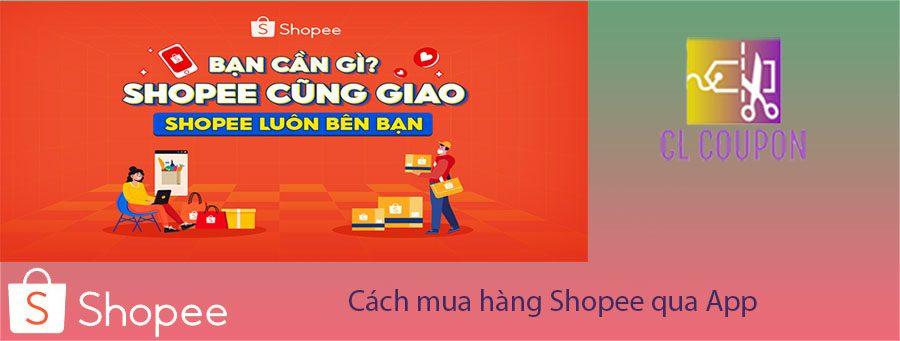 Cách mua hàng Shopee qua App