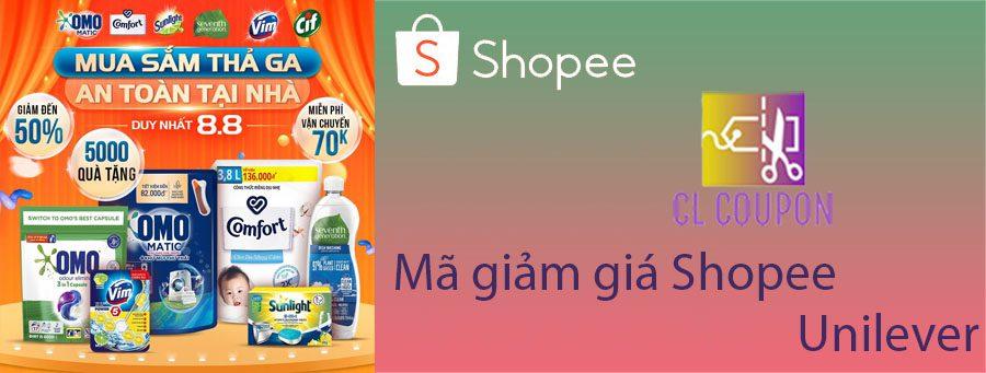 Mã giảm giá Shopee Unilever