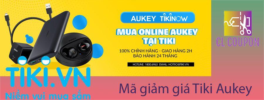 Mã giảm giá Tiki Aukey